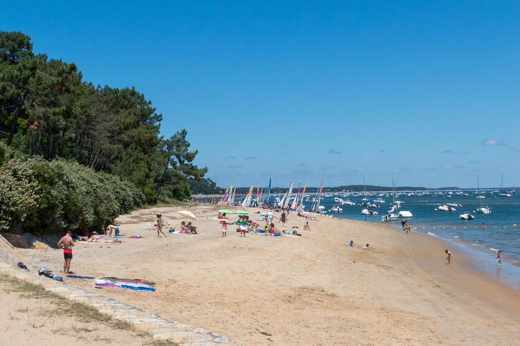 La vigne village du cap ferret infos plages activit s - Restaurant arcachon port de plaisance ...