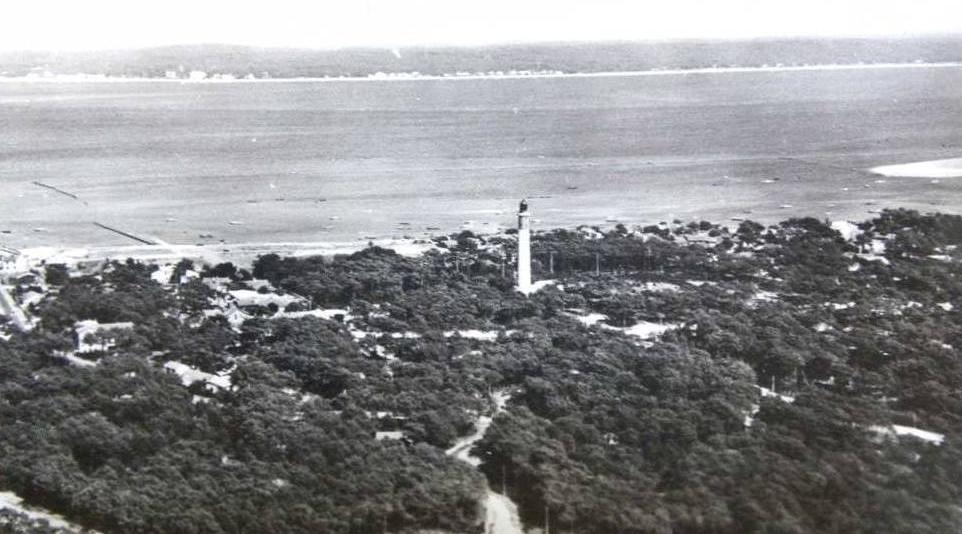 Carte postale ancienne de la presqu'ile du Cap Ferret