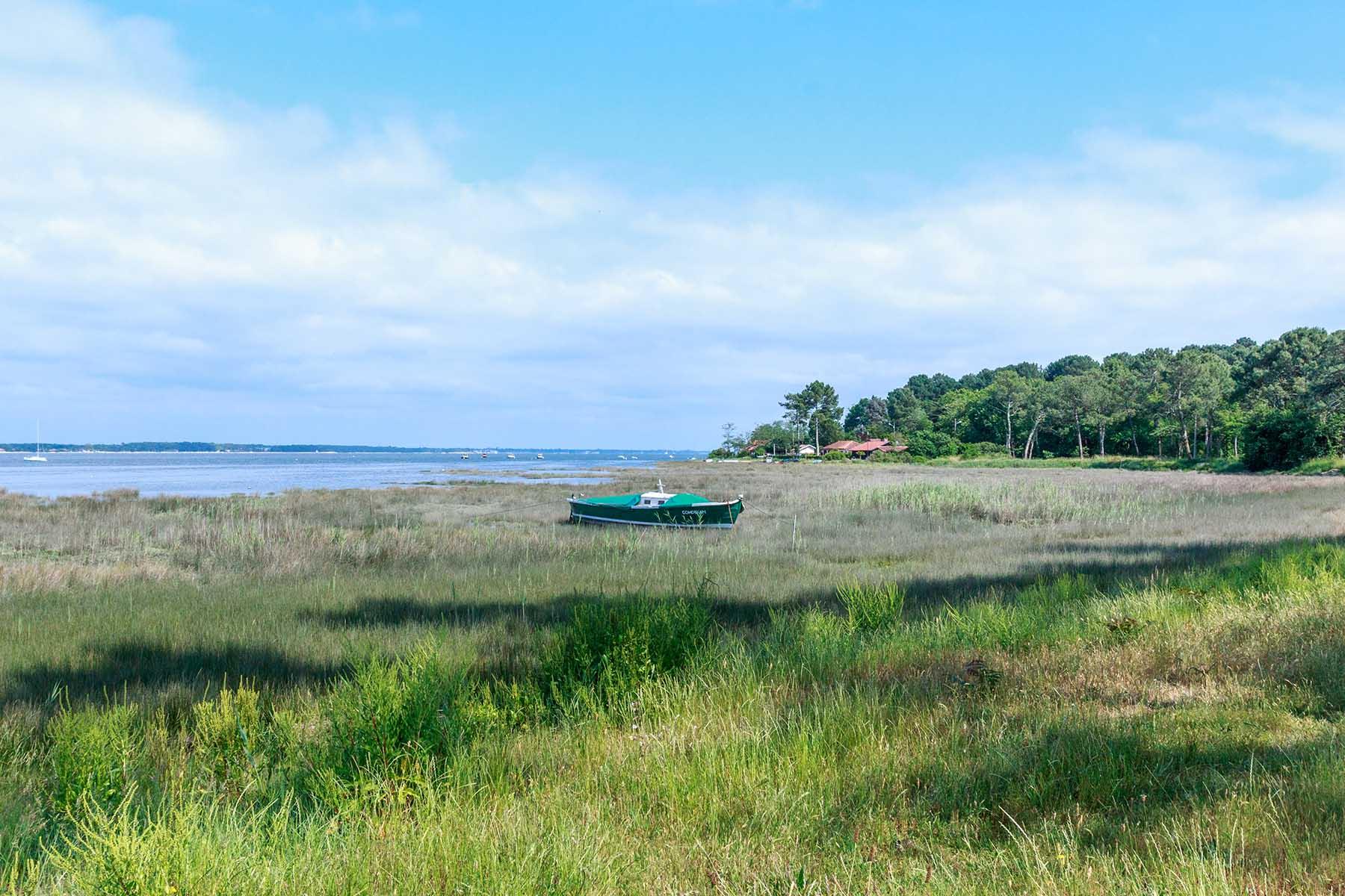 Balade en bord du Bassin d'Arcachon à Claouey
