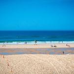 Baignade surveillée au Cap Ferret sur la plage du Truc Vert