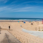 Arrivée sur la plage du Truc Vert