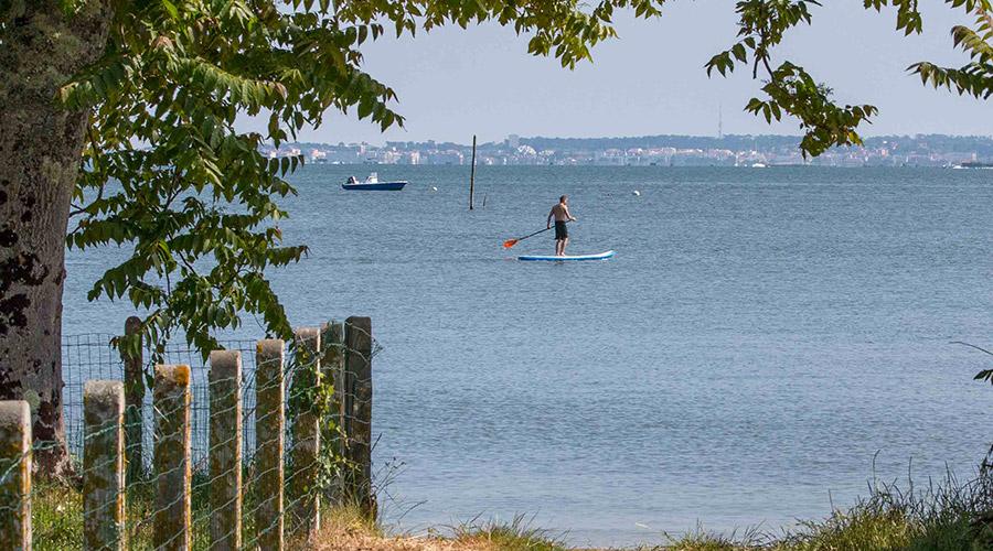 Le stand up paddle une activité nautique sur le Bassin d'Arcachon