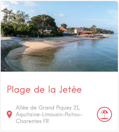 Plage de la Jetée à Grand Piquey au Cap Ferret