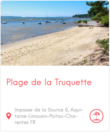 Plage de la Truquette à Petit Piquey au Cap Ferret