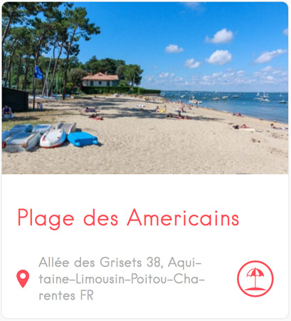 Plage des Américains au Cap Ferret