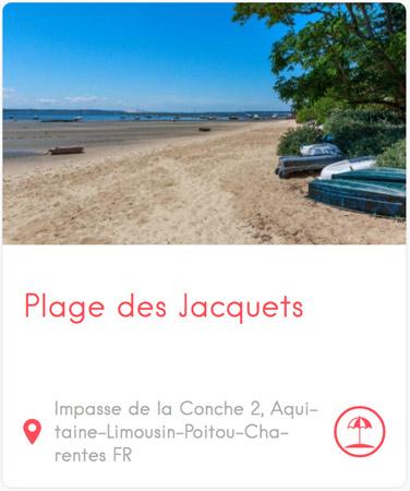 Plage des Jacquets au Cap Ferret