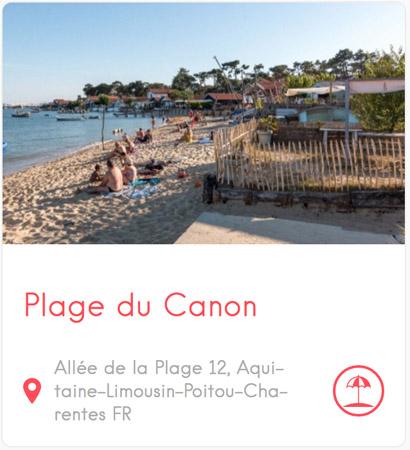 Plage du Canon au Cap Ferret