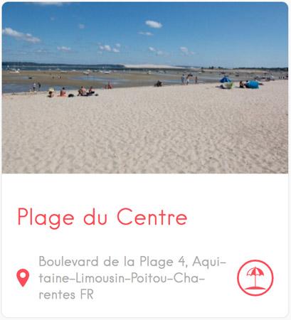 Plage du Centre au Cap Ferret
