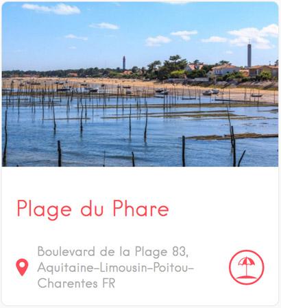 Plage du Phare au Cap Ferret
