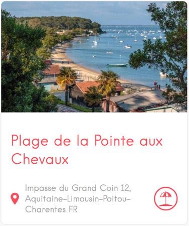 Plage de la Pointe aux Chevaux à Grand Piquey au Cap Ferret