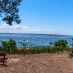 Point de vue sur le Bassin d'Arcachon à Claouey au Cap Ferret