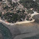 Plage de Bertic sur la presqu'ile du Cap Ferret