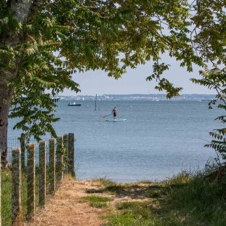 Stand up paddle sur le Bassin d'Arcachon � Claouey