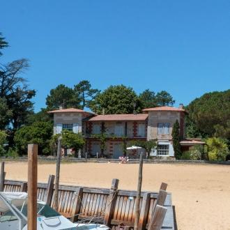 Villa les Hirondelles sur la plage