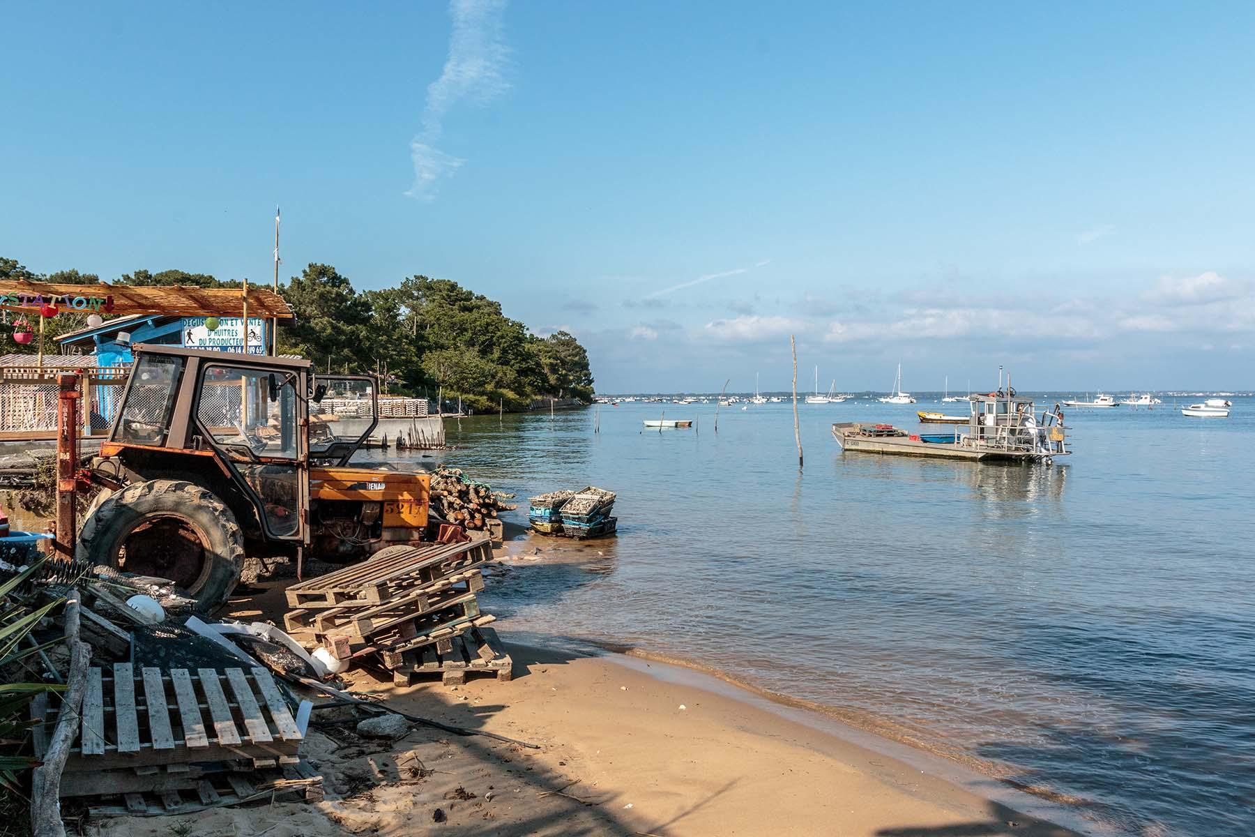 Ostréiculture au Cap Ferret