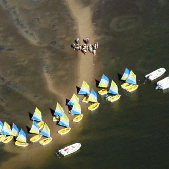 Cours de voile sur le Bassin d'Arcachon