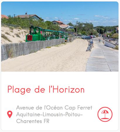 Plage de l'Horizon au Cap Ferret