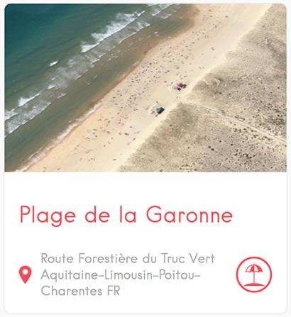 Plage de la Garonne au Cap Ferret