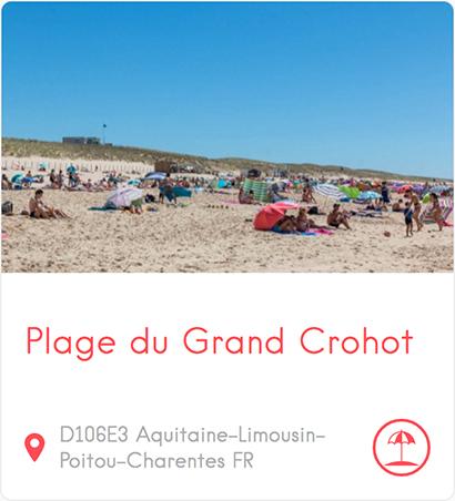 Plage du Grand Crohot au Cap Ferret