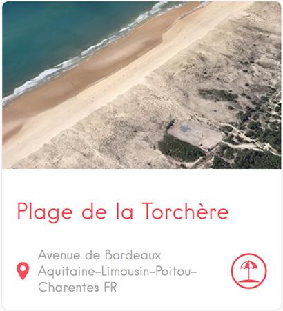 Plage de la Torchère au Cap Ferret