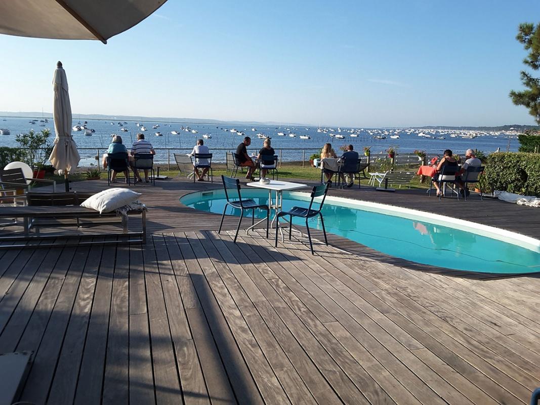 Villa Etche Ona Maison Dhotes Au Cap Ferret Avec Piscine Face Au Bassin
