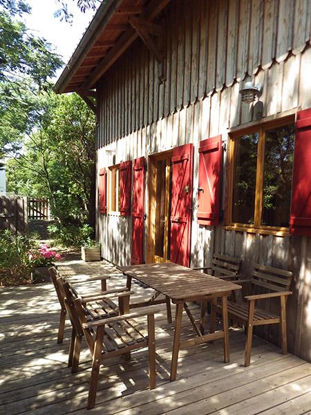 Les mimosas cap ferret villa louer au cap ferret maison de vacances - Restaurant au cap ferret ...