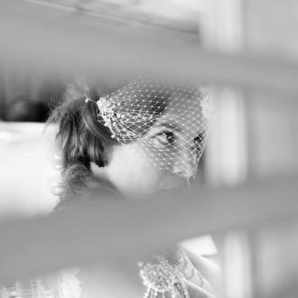 Photographie de mariage ennoir et blanc par Benoit Rual