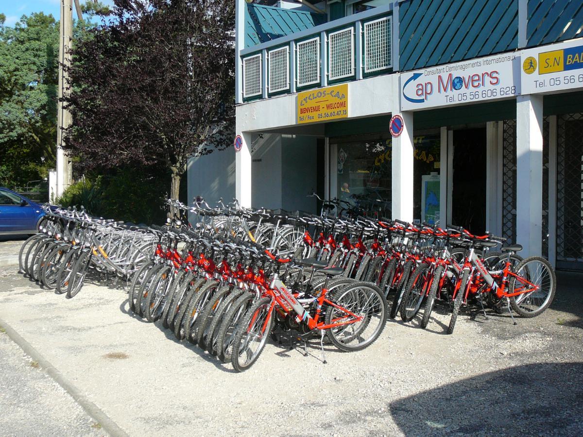 Cyclos-cap location de vélos au Cap Ferret
