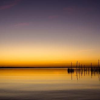Lever de soleil au Cap Ferret par Benoit Rual