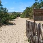 Accès dune de la plage de la Torchère