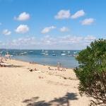 panoramique de la plage des américains au cap ferret