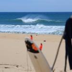 Session de surf plage de la Torchère