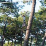 Parcours forestier au Cap Ferret