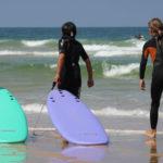 Stage de surf Cap Ferret avec Alex Ecole de Surf