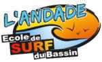 Logo de l'Andade école de surf du Bassin