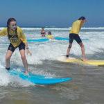 Stage de surf au Cap Ferret plage du Grand Crohot