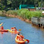 Activités nautiques au camping les Viviers