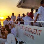 Balade sur le Côte d'Argent au coucher du soleil