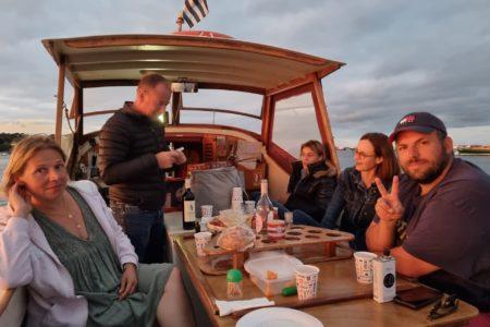 Balade aperitif en pinasse depuis le Cap Ferret