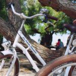 Exemple de vélo disponible à la location avec les Balades Tchanquées