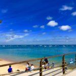Pause rafraichissante lors d'une balade à vélo avec guide au Cap Ferret