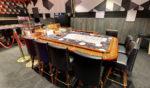 Table de black jack au casino le Miami à Andernos