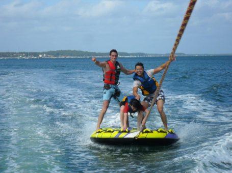 Glisse en Herbe – Ski nautique, wakeboard et bouée tractée