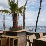 Terrasse de la cabane de Cacanio à Lège Cap Ferret