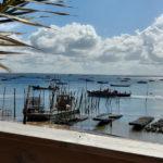 Vue sur le bassin depuis la cabane de Cacanio au Cap Ferret
