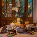 petit dejeuner à la cabane pomme de pin au cap ferret