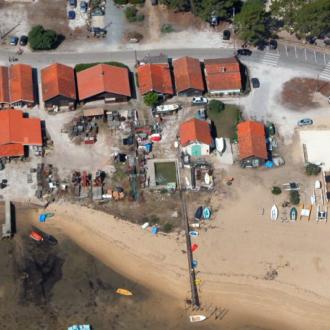 Quartier ostréicole du village du Cap Ferret