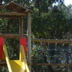 Air de jeux pour enfants dans le camping Les Pastourelles à Claouey