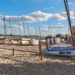 Bateaux à la location au cercle nautique du Cap Ferret