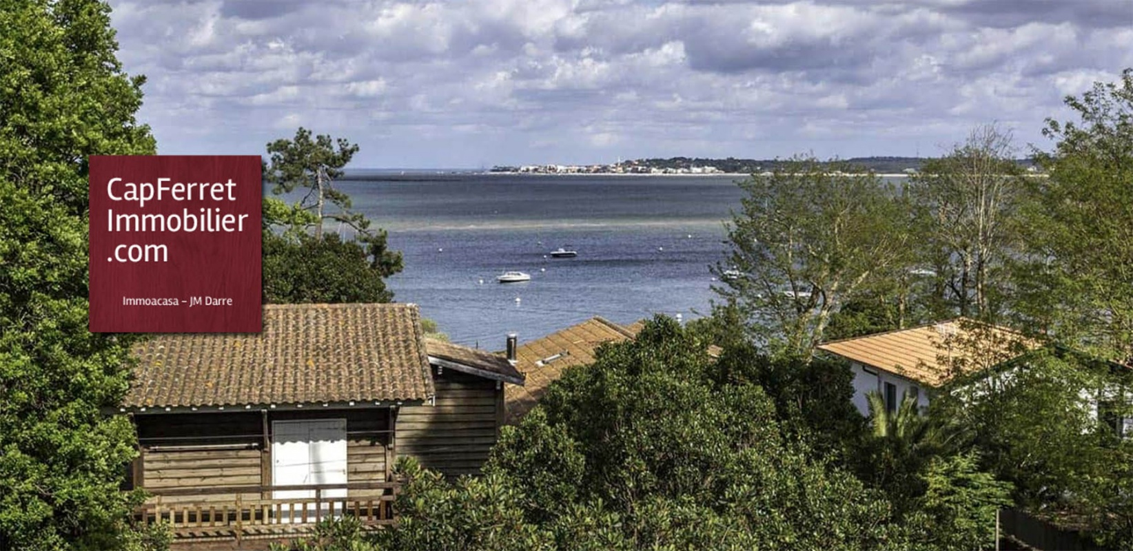 Agence immobilière à Lège-Cap Ferret